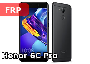 Как разблокировать Google Account Honor 6c, Honor 6c Pro Android 7.0. FRP