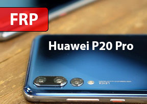 Как разблокировать Google Account Huawei P20 Pro Android 9. FRP