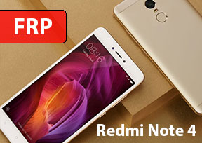 FRP Как разблокировать Google account на телефоне Xiomi Redmi Note 4 Android 7.0