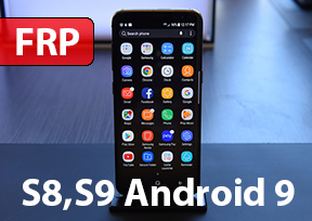 Сброс гугл аккаунта. Samsung S8/S8+/S9/S9+/A8+ Android 9. FRP!