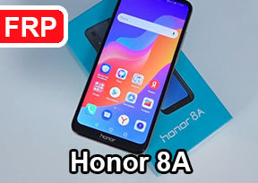 How to unlock Google account (Google account) on the phone Honor 8A JAT-LX1, JAT-L21, JAT-L41, JAT-L29
