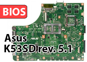 Bios asus k53sd rev. 5.1